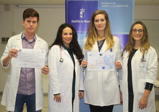 Residentes de medicina del Área Sanitaria de Atención Primaria de Toledo, galardonados con dos premios en el II Congreso de Médicos Jóvenes