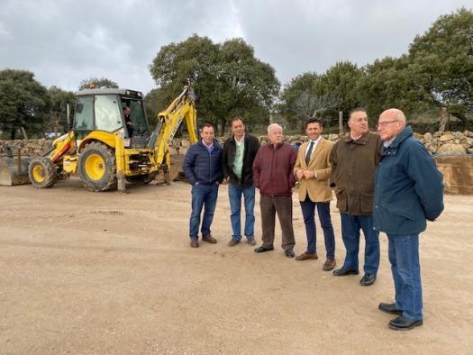 El Gobierno regional inicia la construcción de la nueva rotonda de intersección entre las carreteras CM-5001 y CM-5005 de la Sierra de San Vicente