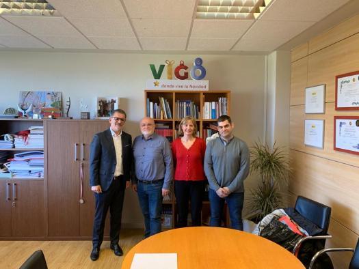 Reunión de Ruiz Santos y APEHT con el Ayuntamiento de Vigo