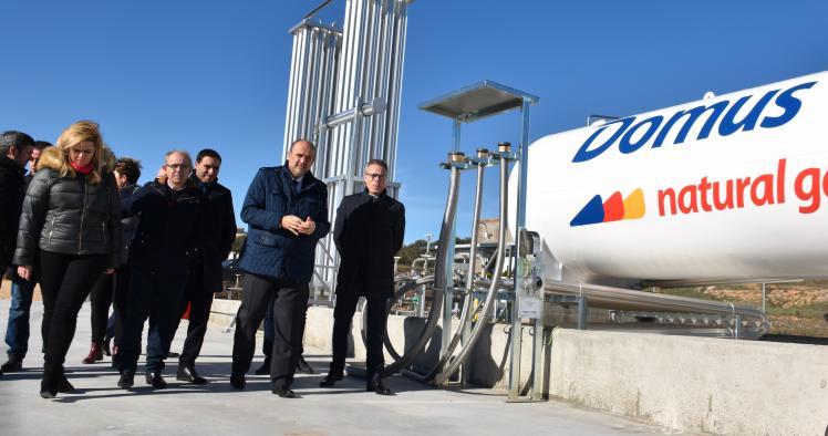 Un total de 97 municipios de Castilla-La Mancha disponen de suministro de gas natural