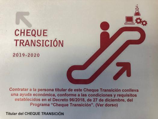 """El Gobierno regional destina más de 560.800 euros a los 99 """"cheques transición"""" que se ha aprobado en la provincia de Toledo"""