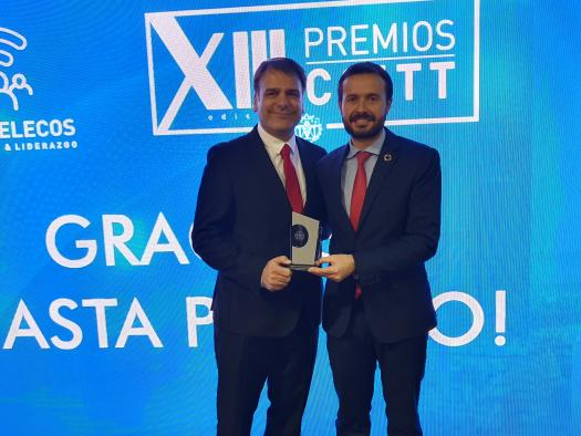 El Colegio Oficial de Ingenieros de Telecomunicaciones premia el liderazgo del Gobierno de Castilla-La Mancha en el despliegue de redes de última generación