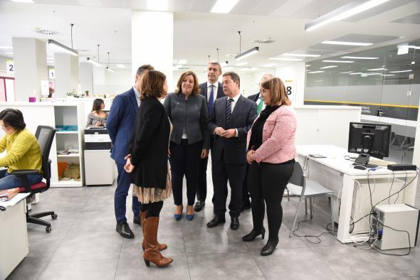 Inauguración de la Oficina de Empleo y el Centro de formación de la cerámica y el vidrio de Talavera de la Reina (II)