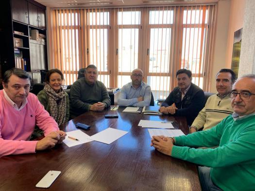 Reunión de Ramón Sáez con ASAJA y UPA