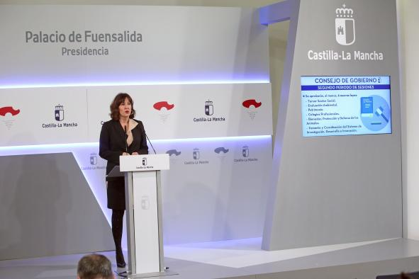 Rueda de prensa del Consejo de Gobierno (15 ENERO) (I)