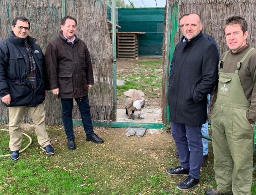 """El Gobierno regional muestra su compromiso con la recuperación de la avifauna y agradece """"la extraordinaria labor"""" que realiza el CERI de Sevilleja"""