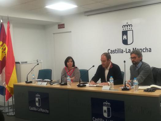 Reunión Nicolás Merino con asociaciones y oficinas de turismo de Albacete