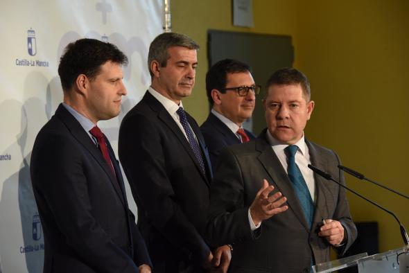 El Gobierno regional favorecerá el desarrollo industrial de Fuensalida con la puesta en marcha de la nueva variante entre ésta y la próxima legislatura