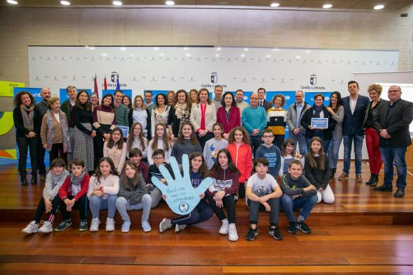 El Gobierno regional agradece a UNICEF el reconocimiento a ocho centros escolares de la región como referentes en educación en derechos de la Infancia y Ciudadanía