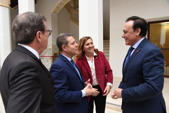 Encuentro con rectores de las universidades españolas