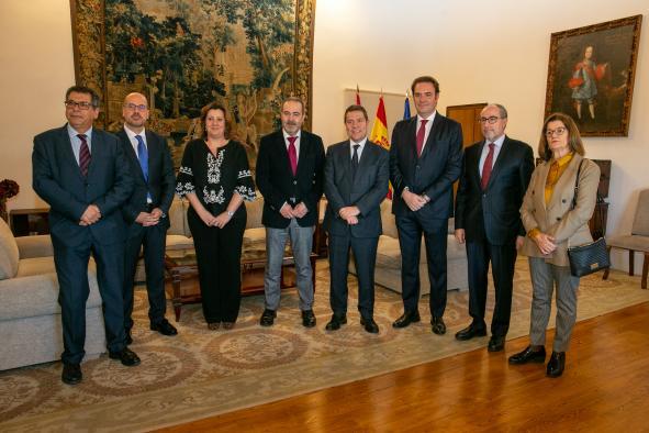 Reunión con el presidente del Consejo regional de Cámaras de Comercio