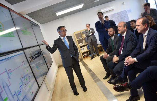 El Gobierno de Castilla-La Mancha anuncia que los edificios de titularidad regional podrán conectarse a la red de calor que se va a instalar en la ciudad de Guadalajara