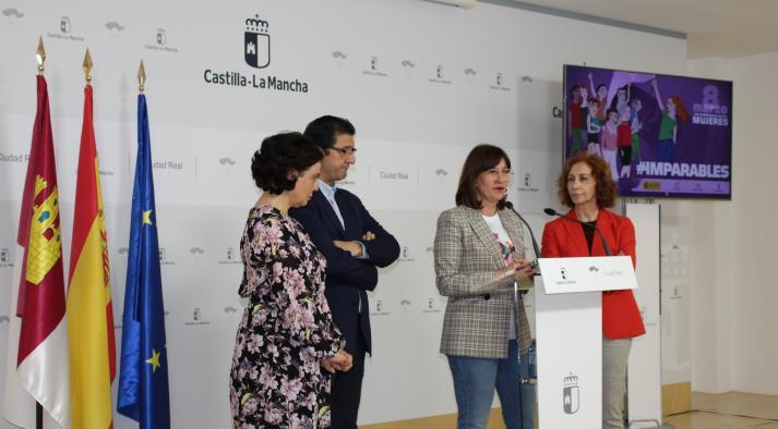 """El Gobierno de Castilla-La Mancha reconoce el trabajo de cinco mujeres, """"trabajadoras incansables por nuestra igualdad y nuestros derechos"""""""