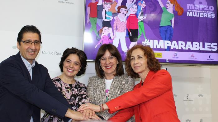 El Gobierno de Castilla-La Mancha celebrará el Día Internacional de las Mujeres bajo el lema 'Imparables'