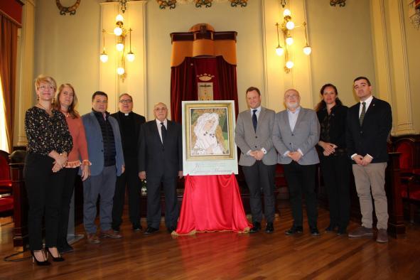 Presentación del cartel del Encuentro Internacional de Hermandades y Cofradías Esperanza Macarena