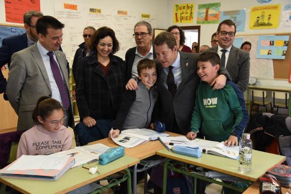 Visita al Colegio Rural Agrupado de Fuentelencina