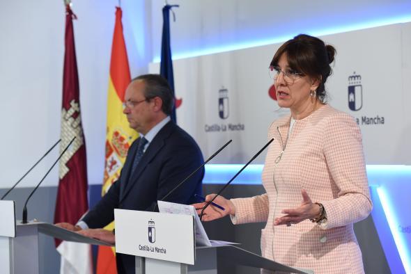 Rueda de prensa del Consejo de Gobierno extraordinario dedicado a la lucha contra el coronavirus (PORTAVOZ) (II)