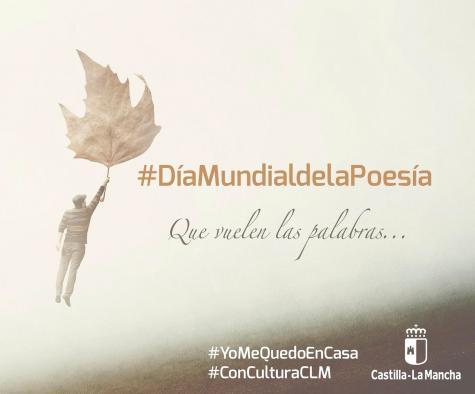 El Gobierno regional pone en marcha una iniciativa online para celebrar el Día Mundial de la Poesía desde #yomequedoencasa