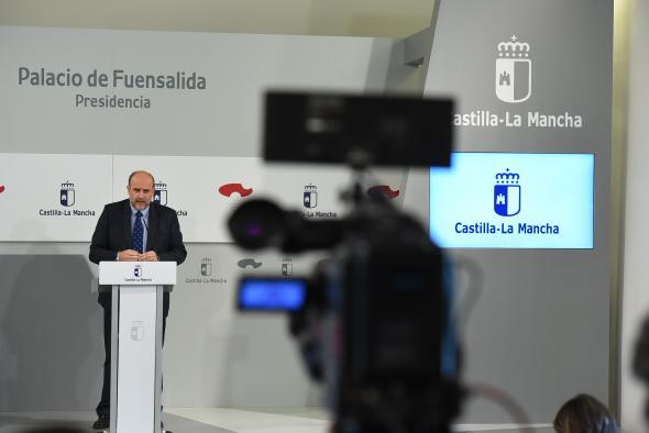 Rueda de prensa del Consejo de Gobierno de Castilla-La Mancha (II)