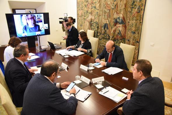 Encuentro por videoconferencia con los agentes económicos y sociales