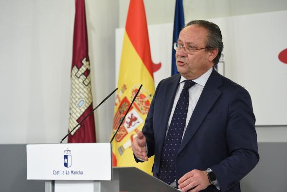Comparecencia Consejo de Gobierno de Castilla-La Mancha (31 de marzo) (Hacienda)