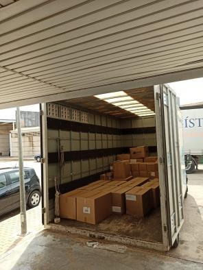 Nuevo envío de material de protección para sanitarios en la provincia de Albacete
