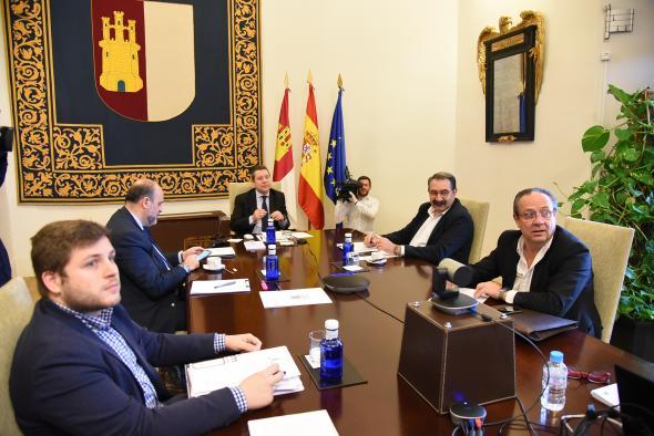 Comparecencia del presidente de Castilla-La Mancha, Emiliano García-Page (5 de abril)