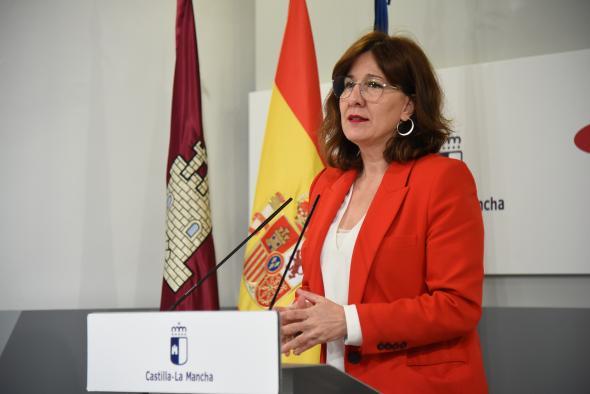 Rueda de prensa para informar sobre el Consejo de Gobierno de Castilla-La Mancha (7 abril) (Portavoz)