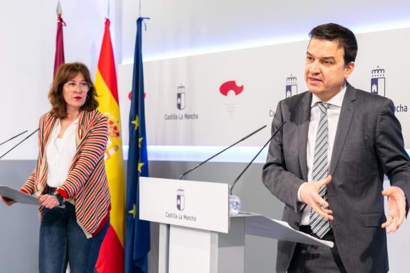 Rueda de prensa del Consejo Asesor Agrario de Castilla-La Mancha (Agricultura)
