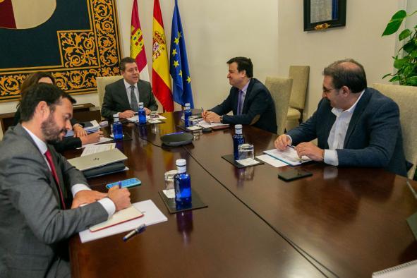 Videoconfrencia con representantes del comercio y la cadena agroalimentaria de la región (Agricultura)