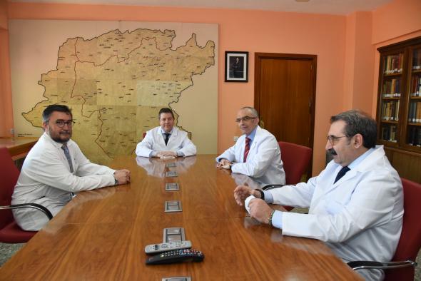 Visita al Instituto de Ciencias de la Salud de la región