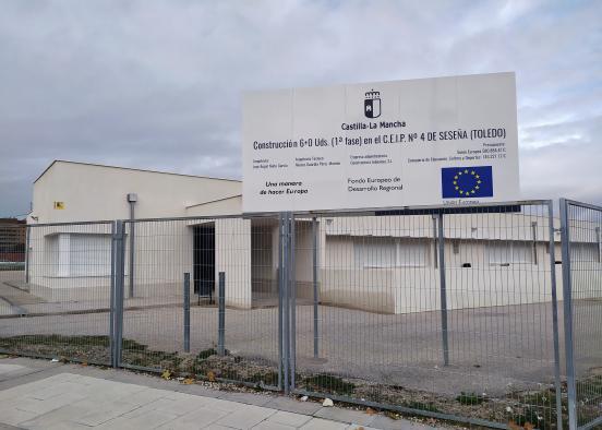 El DOCM hace pública mañana la formalización del contrato para la ejecución de las obras de ampliación del CEIP Nº 4 del Barrio 'El Quiñón' de Seseña