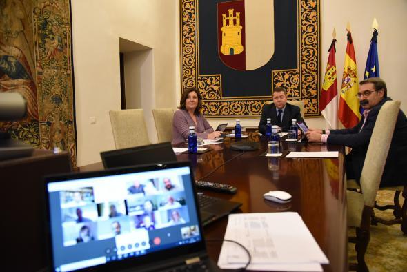 Videoconferencia con el Consejo de la Abogacía de Castilla-La Mancha
