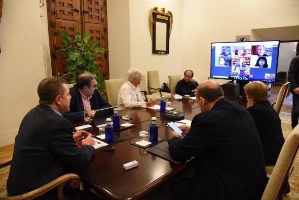 Videoconferencia con representantes de las Comunidades Originarias de Castilla-La Mancha