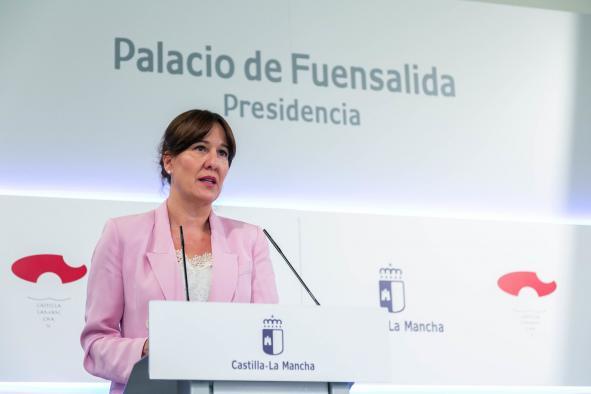 Blanca Fernández sobre el Hospital de Hellín tras el incendio