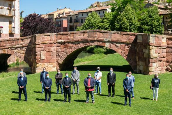 Visita a Molina de Aragón en el vigésimo aniversario de la declaración del Parque Natural del Alto Tajo (II)