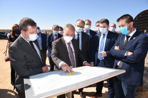 Inauguración de las obras de ampliación del Polígono Industrial ´Miguel Jerez´