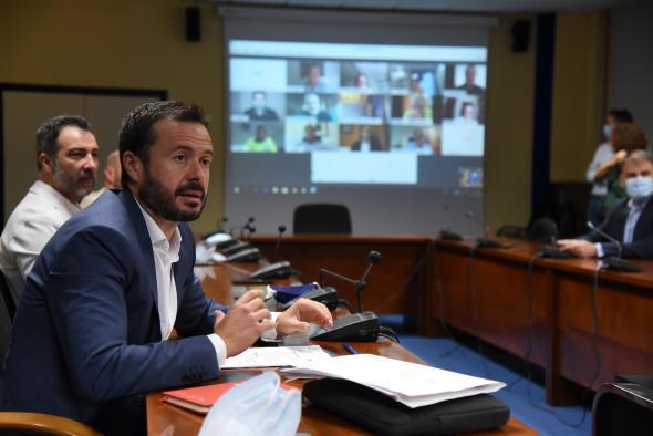 Videoconferencia con entidades por su contribución durante la emergencia del COVID-19