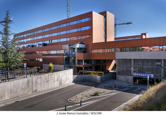 Las obras de ampliación del Hospital de Guadalajara siguen avanzando y su ejecución se sitúa ya al 80 por ciento