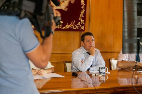 Videoconferencia con el ministro de Inclusión, Seguridad Social y Migraciones