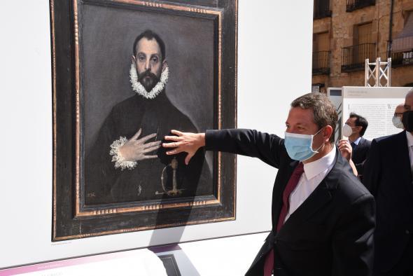 """Inauguración de la exposición """"EL MUSEO DEL PRADO EN SIGÜENZA"""" (Presidente) (II)"""