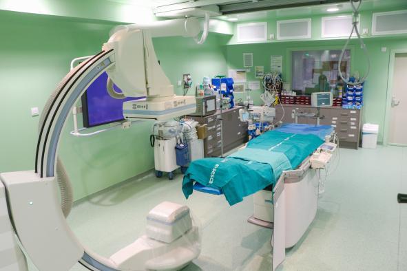 El Hospital Virgen de la Luz de Cuenca ha logrado en un año realizar más del 90 por ciento de los cateterismos cardiacos programados