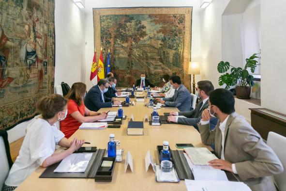 Consejo de Gobierno Extraordinario (24 julio 2020) PRESIDENTE (I)