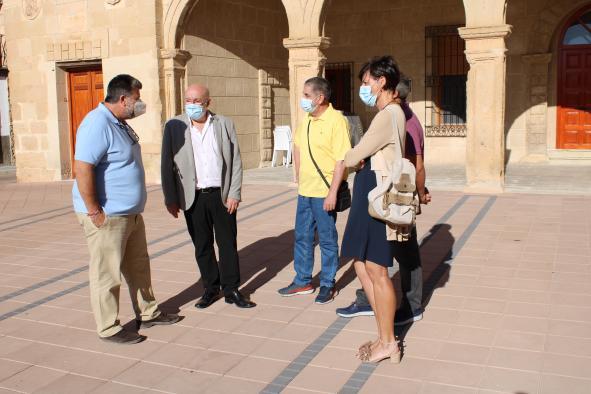 Visita Ruiz Santos a Peñas de San Pedro
