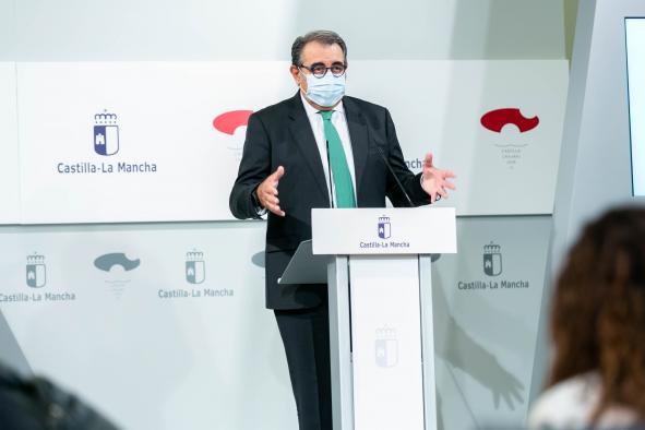 Rueda de prensa sobre los acuerdos del Consejo de Gobierno (9 septiembre) (Sanidad))