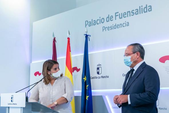 Reunión con la alcaldesa de Talavera de la Reina (Toledo)