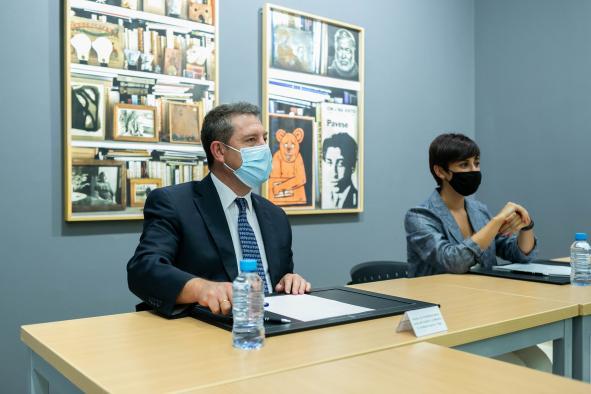 Reunión de trabajo con la alcaldesa de Puertollano
