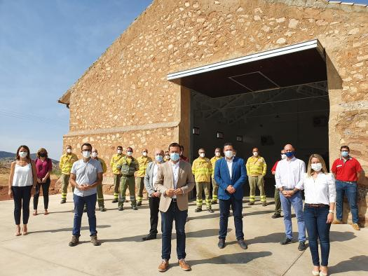 El Gobierno de Castilla-La Mancha invierte 289.000 euros en la rehabilitación del antiguo Silo de la Sierra de Alcaraz para convertirlo en el nuevo Centro Comarcal de Emergencias