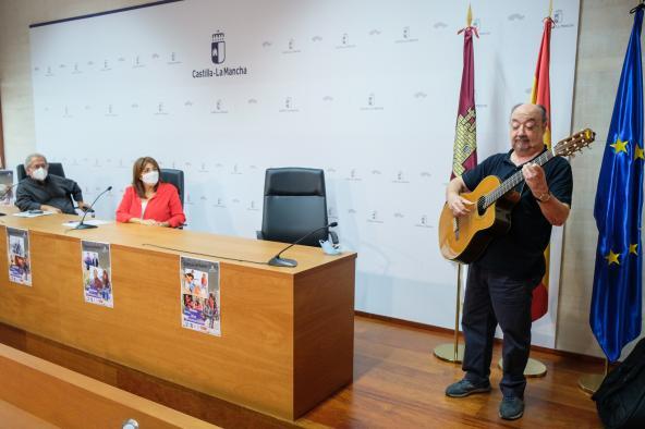 Kiko Veneno, La Otra, además de conciertos, talleres y charlas pedagógicas, en el IV Encuentro de Canción de Autor organizado por el Gobierno regional