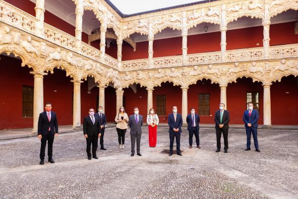 García-Page se reúne con el alcalde de Guadalajara